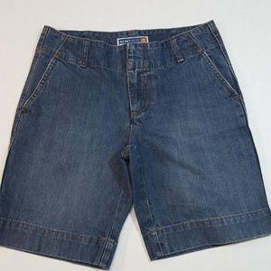 Old Navy Denim Shorts just below waist sz 1